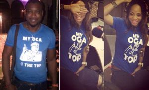 my oga at the top shirt