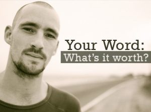 Your word worth