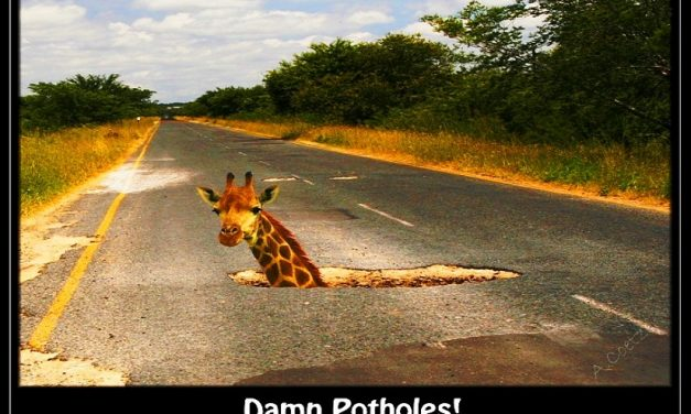 THE POTHOLE ANALOGY