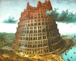 Tower of babel - man projects