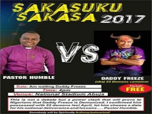 Humble Okoro vs Daddy Freeze